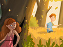 Ella, an illustration style for childrens' books by Tadaa Book